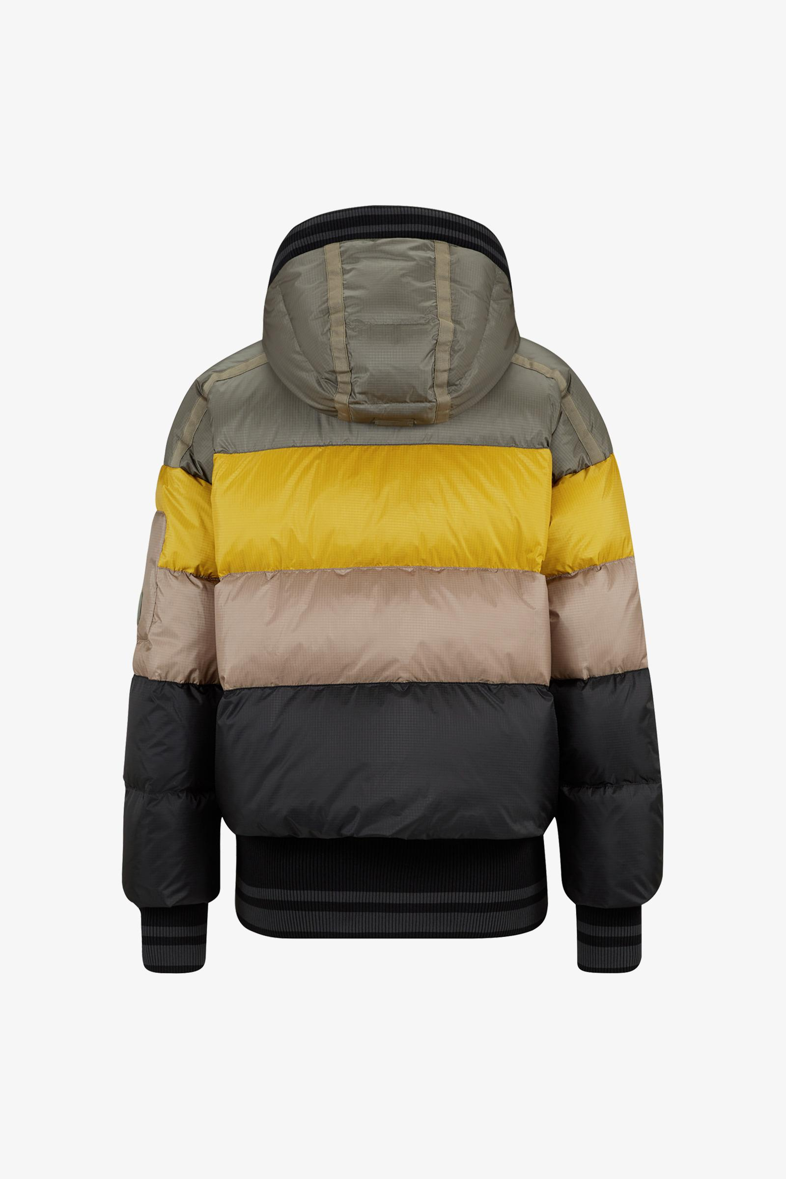 beliebte Marke populäres Design Top-Mode Velia Down Ski Jacket In Khaki/orange