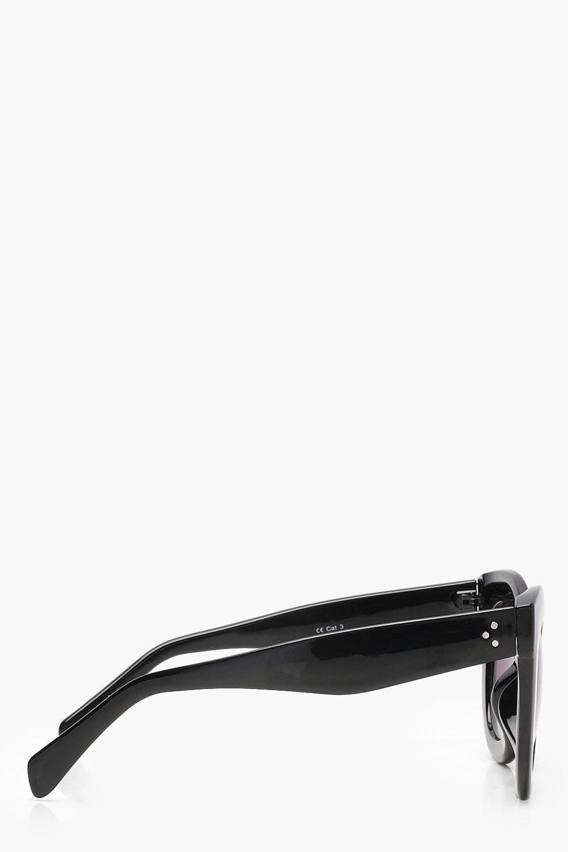 Boohoo Black Oversized Frame Sunglasses