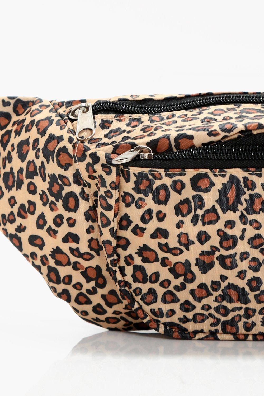 a36e98721d Boohoo Ellie Leopard Print Bumbag in Natural - Lyst