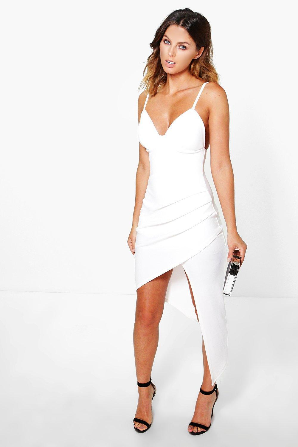 36008457c12d Gallery. Previously sold at: Boohoo · Women's Slip Dresses ...