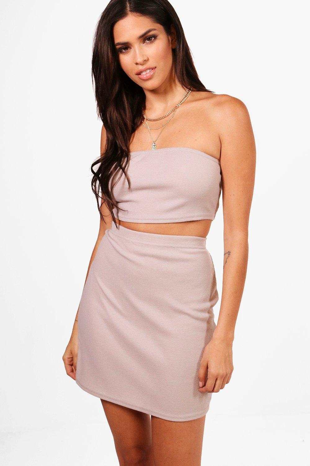 Boohoo Petite Bandeau Mini Bandage Skirt Co-Ord Release Dates Cheap Price Discount Countdown Package Sale From China Exclusive Cheap Price QmdP7YeNF