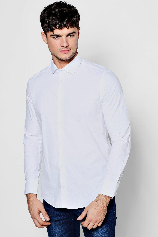 2c7adc96574 Mens Slim Fit Shirts Boohoo   Kuenzi Turf & Nursery