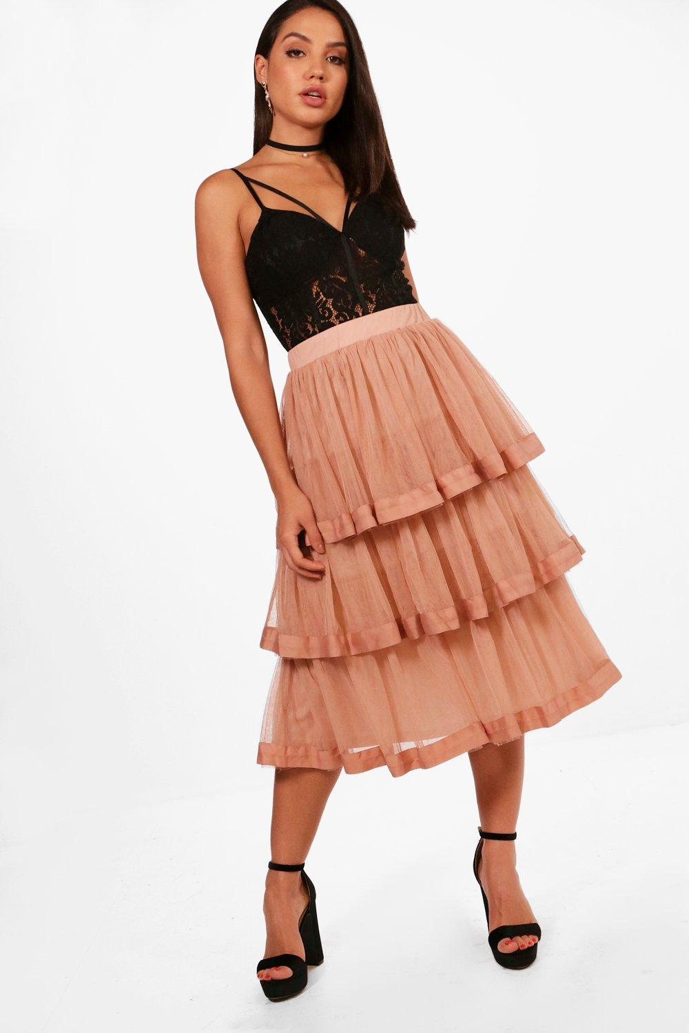 3a62f3ba2b55fa Gallery. Previously sold at: Boohoo · Women's Midi Skirts Women's Tulle  Skirts