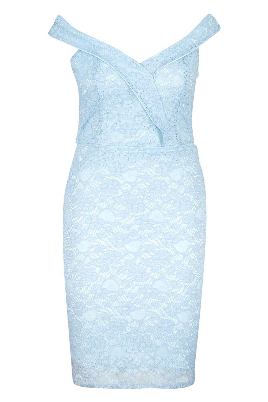 6fde1d468b9b7 ... Lace Sweetheart Mini Dress - Lyst. View fullscreen