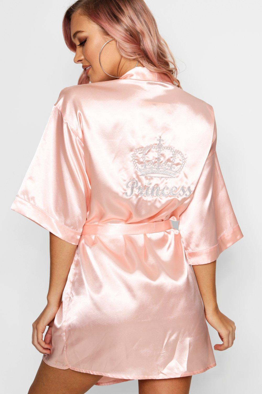 clearance prices new get new Princess Crown Embroidered Robe