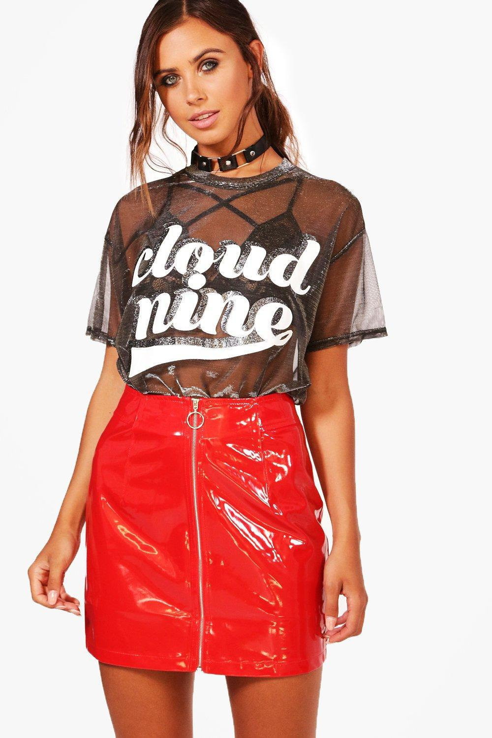 Gallery. Previously sold at  Boohoo · Women s Red Skirts Women s Skater ... 23756106f