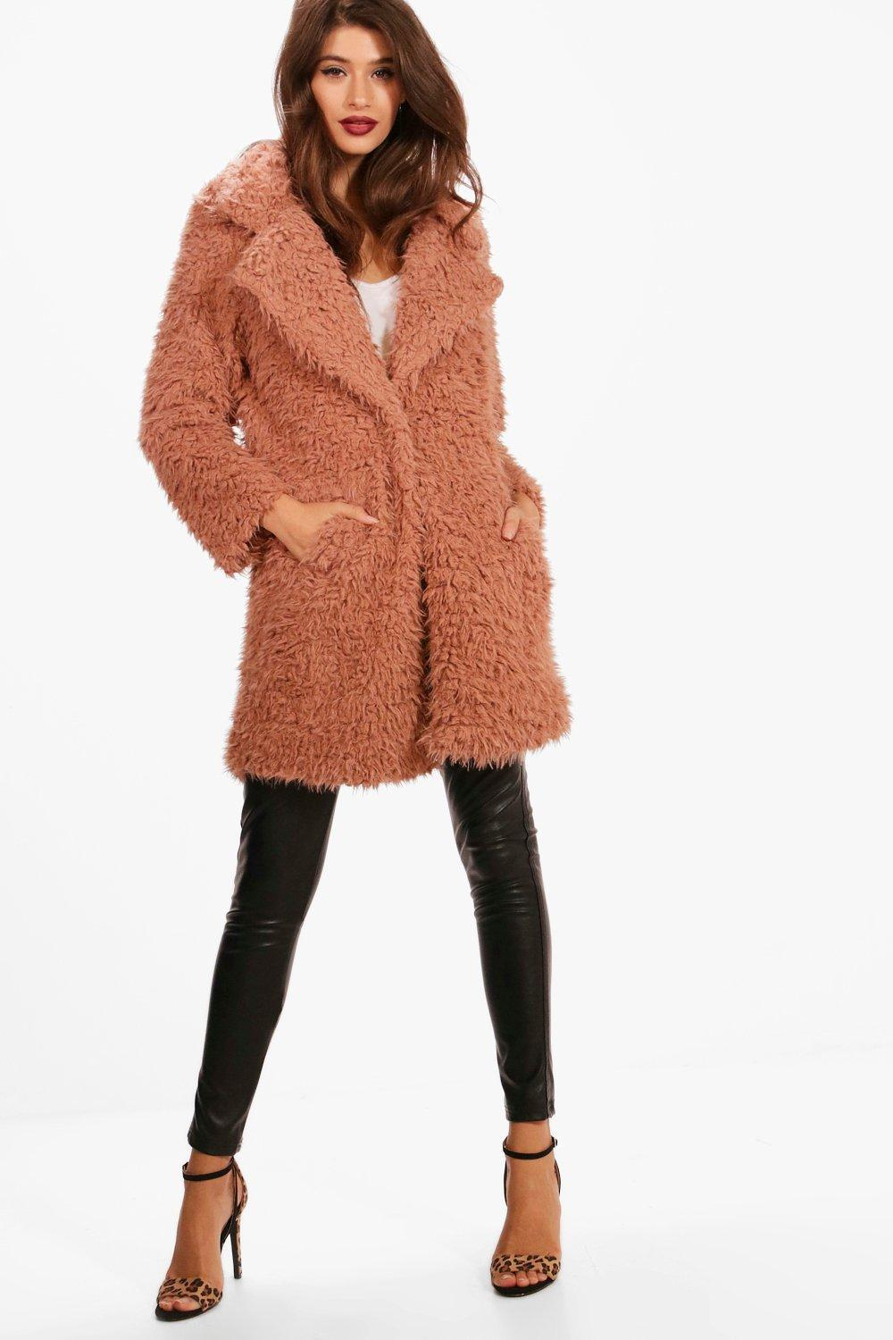 c757036cb416d Boohoo Charlotte Leopard Faux Fur Coat Where To How Wear