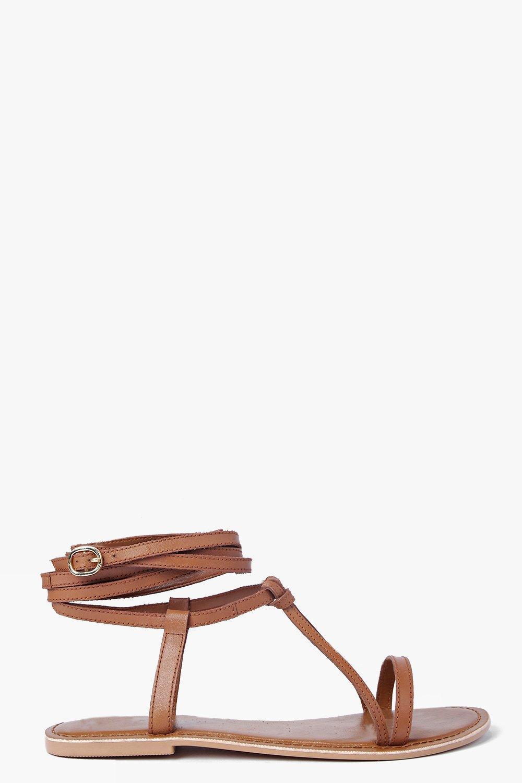 c3347d563de58b Women s Brown Boutique Orla Wrap Strap Leather Ghillie Sandal shoes for  cheap 52d51  Boohoo - Black Boutique Lara Plain Toe ...