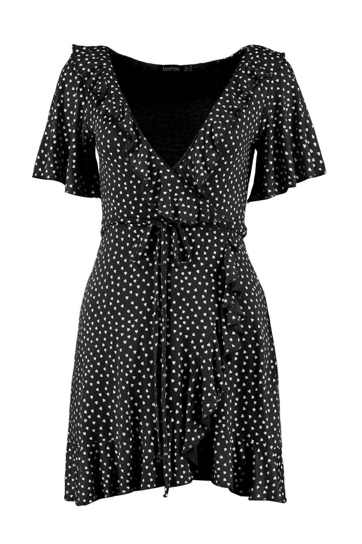 fb38d2f0161f ... Ditsy Heart Tea Dress - Lyst. View fullscreen