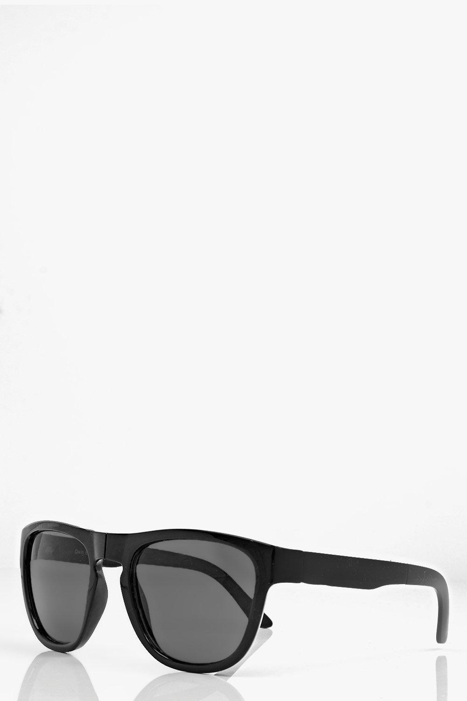 Boohoo Evie Foldable Black Lense Wayfarer Sunglasses