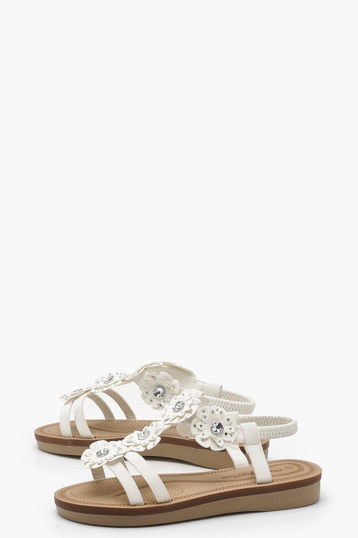 Ruby Embellished Footbed Sandals lh4X6Wi