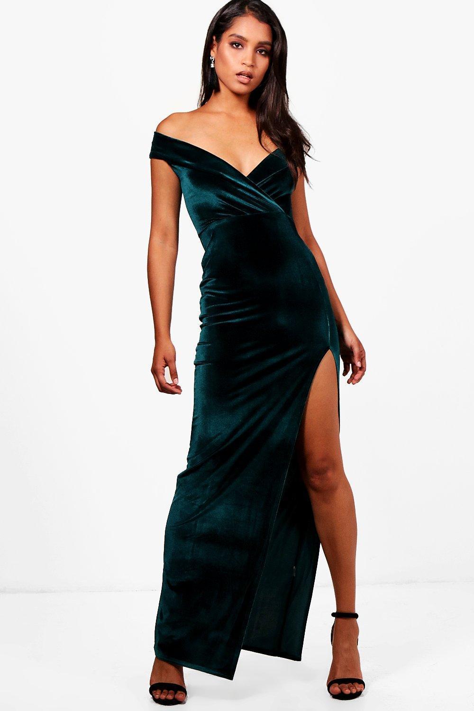e2755ef56ef65 Velvet Dresses Uk Boohoo