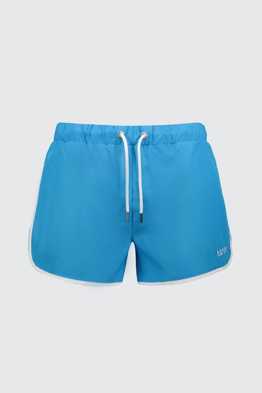 1b579227690aa BoohooMAN - Blue Original Man Runner Swim Short for Men - Lyst. View  fullscreen