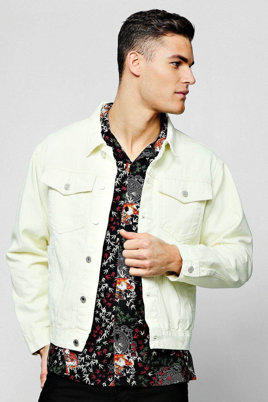 c3698fe8ac394 Lyst - Boohooman 4 Pocket Denim Jacket for Men