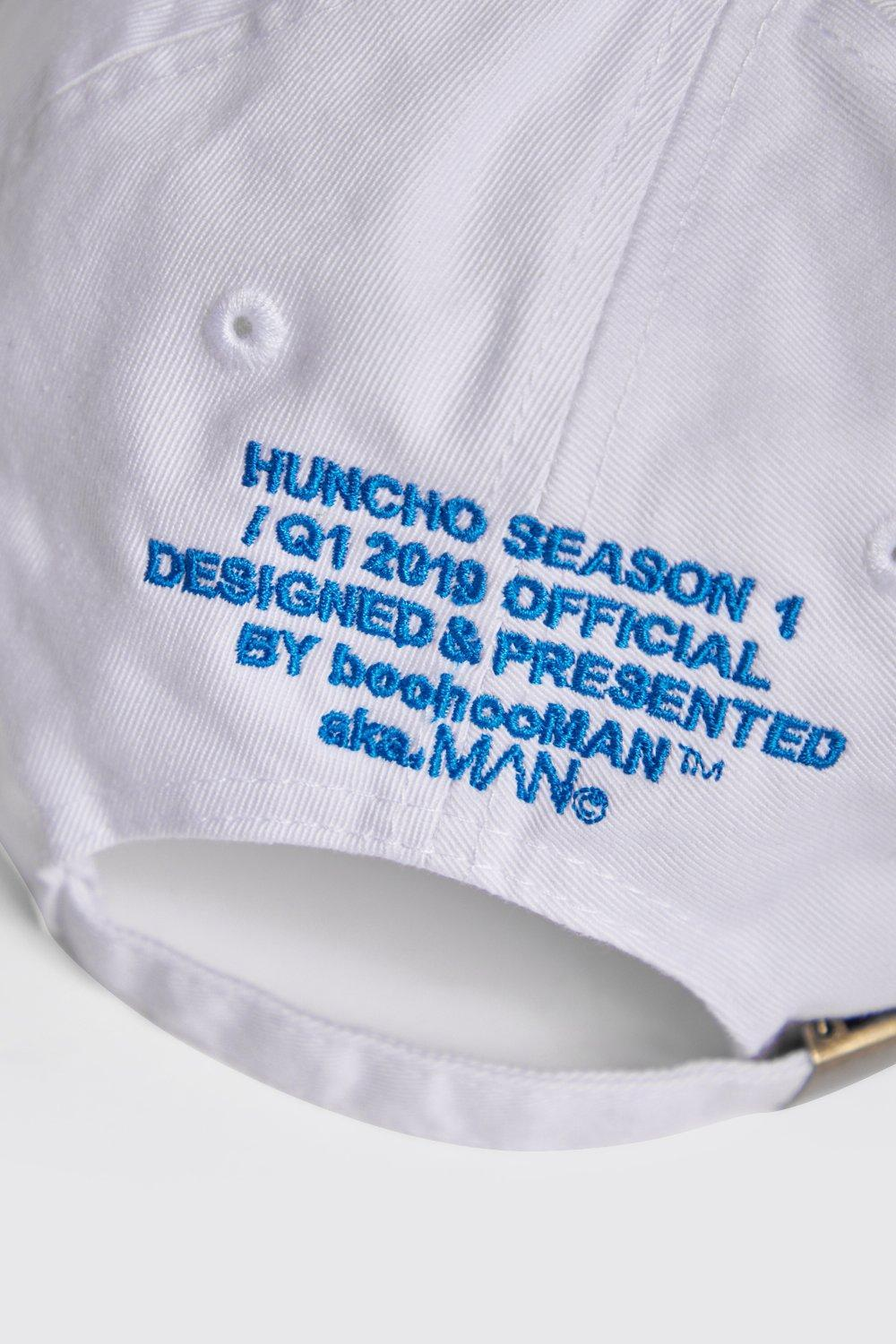 d4b7d7c716066 BoohooMAN - White Quavo Front   Back Embroidered Dad Cap for Men - Lyst.  View fullscreen