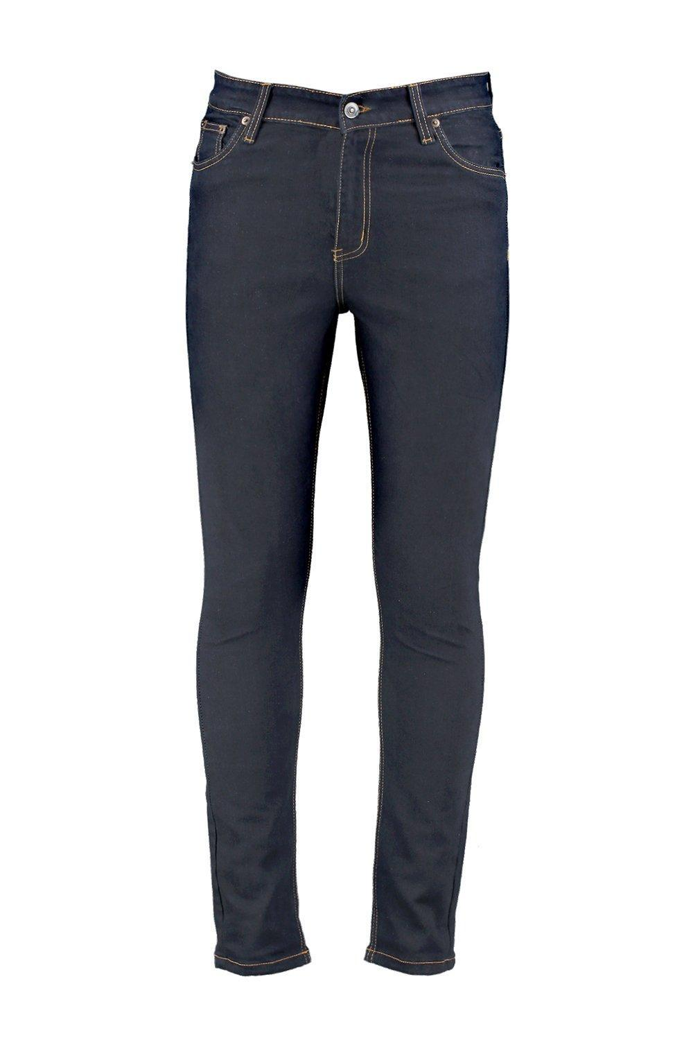 Boohoo Denim Indigo Super Skinny Fit Jeans in Blue for Men