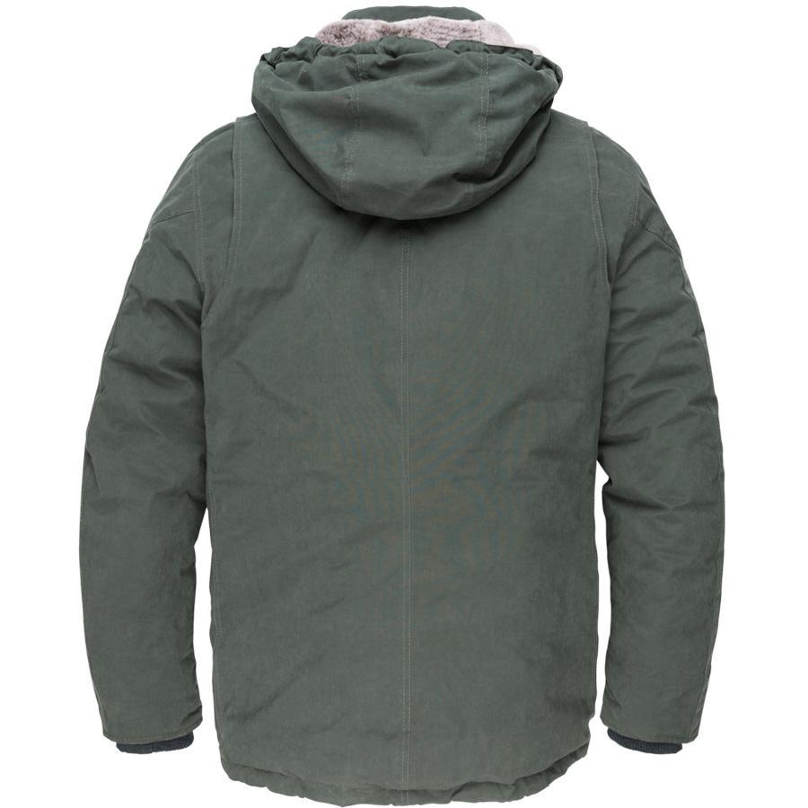 Vanguard Synthetisch Parka Winterjas Donkergroen in het Groen voor heren