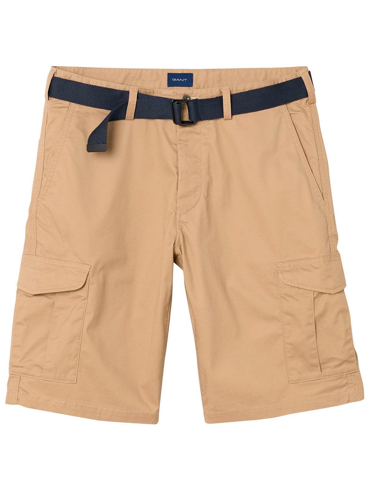 Shorts Des Hommes En Twill Détendues Gant XKPyx5r