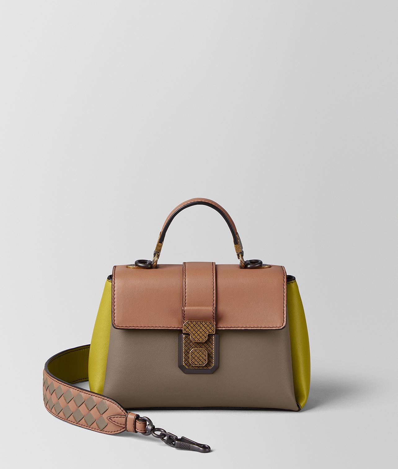 Piazza Large Color-block Leather Tote - Gray Bottega Veneta 3K2kThK25