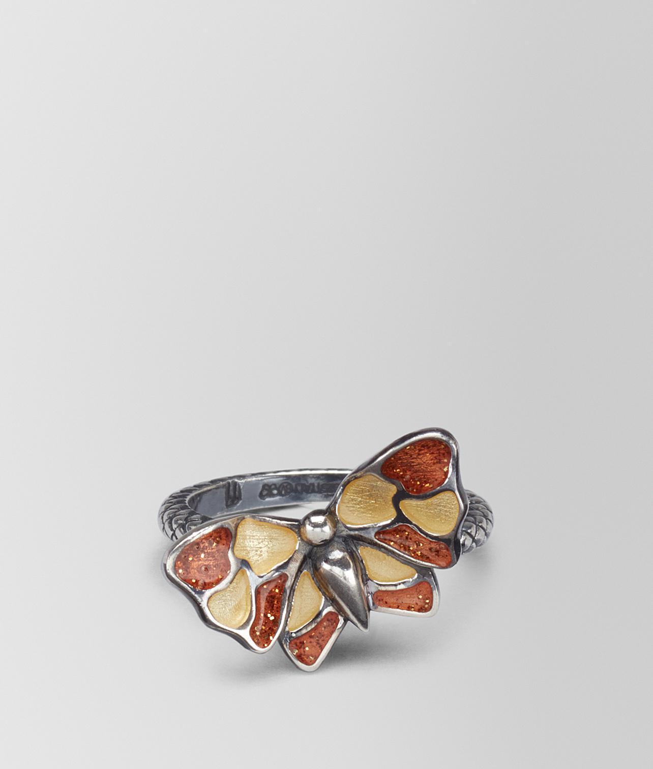 butterfly Intrecciato ring - Metallic Bottega Veneta NOedJGKXgz