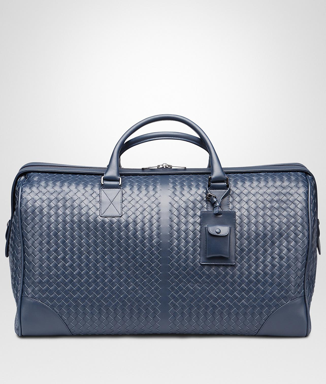 c6d263b501 Bottega Veneta Large Duffel Bag In Light Tourmaline Intrecciato Vn ...