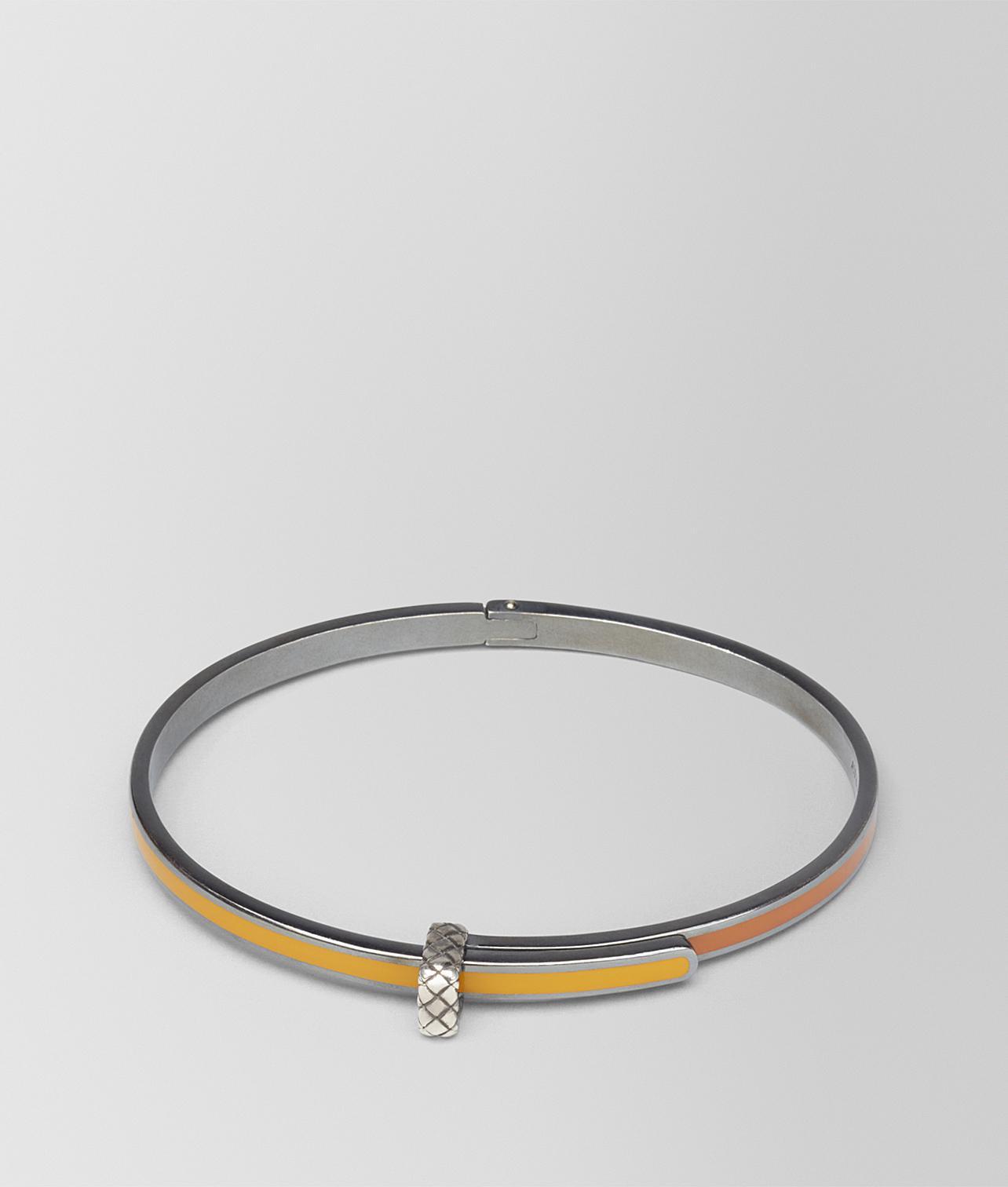 gold and silver antique Intrecciato bangle - Metallic Bottega Veneta HJpnfJVv89