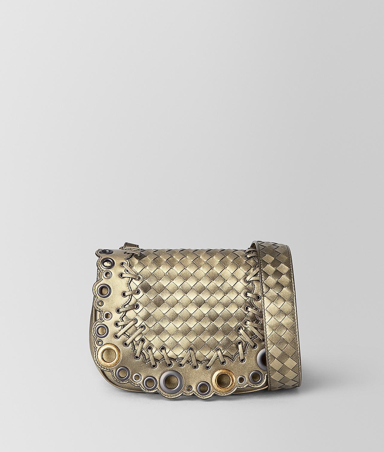 5c2f2ece9a5f Lyst - Bottega Veneta Bv Luna Bag In Intrecciato Lace