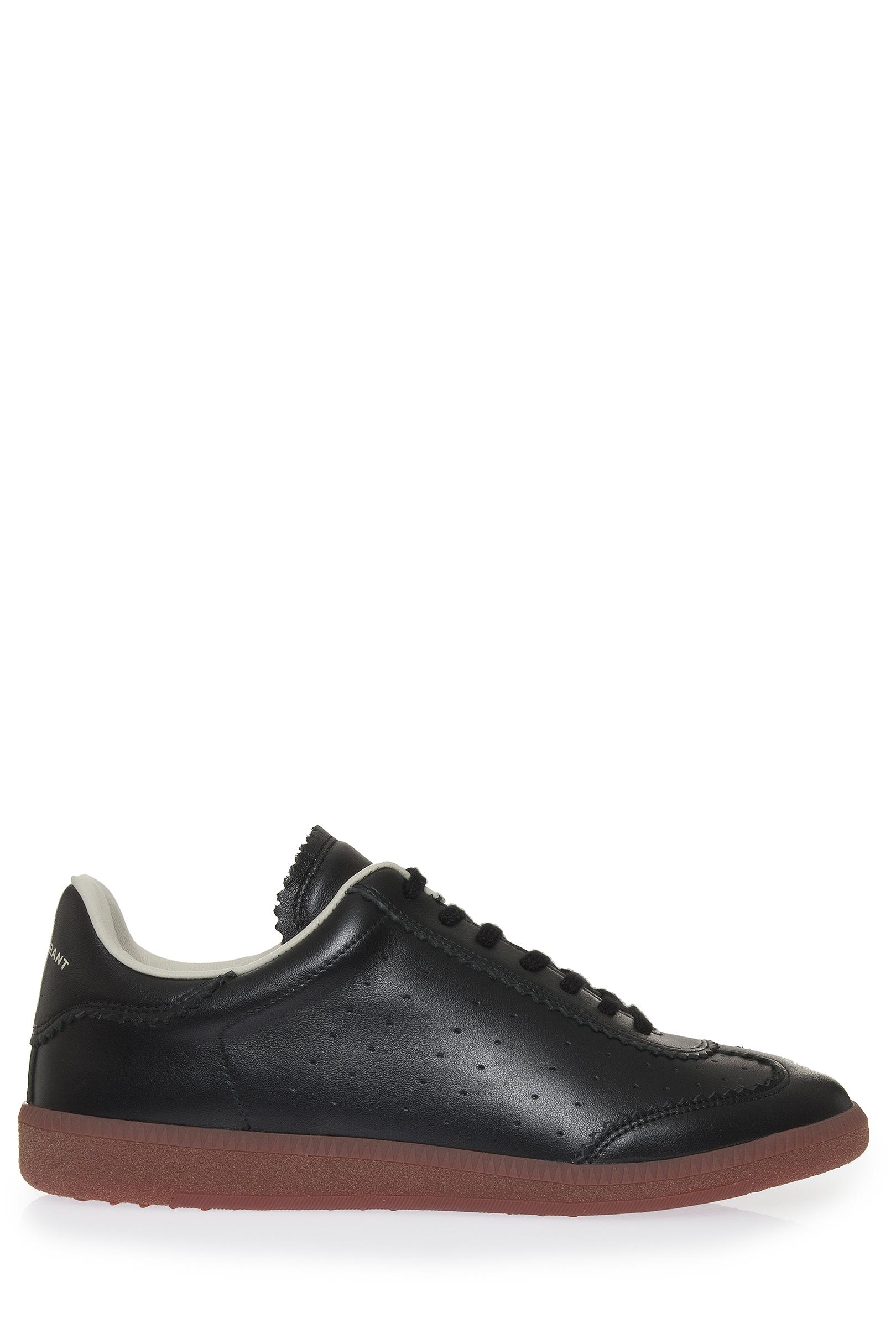 toile isabel marant bryce sneakers in black lyst. Black Bedroom Furniture Sets. Home Design Ideas