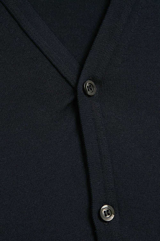 acaf84e5797 John Smedley - Blue Whitchurch Cotton Cardigan for Men - Lyst. View  fullscreen