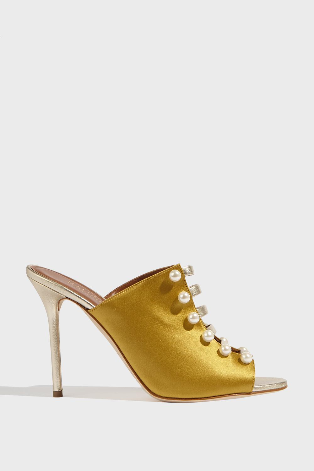 MALONE SOULIERS Pearl embellished mules Clearance Brand New Unisex Discount Geniue Stockist Buy Cheap Deals wLll8