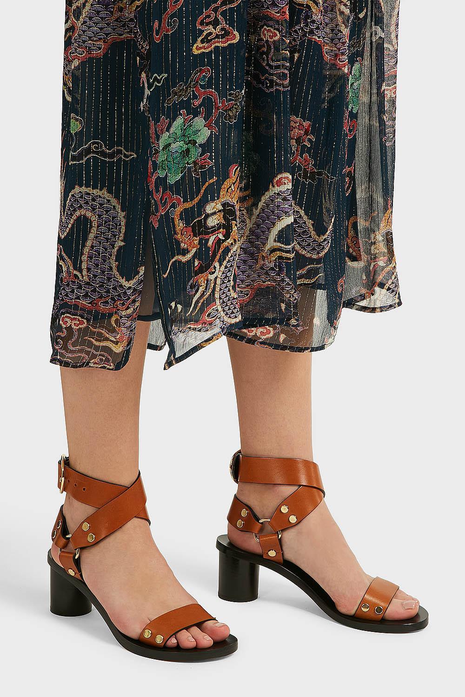 Isabel Marant Jeyka Leather Sandals in