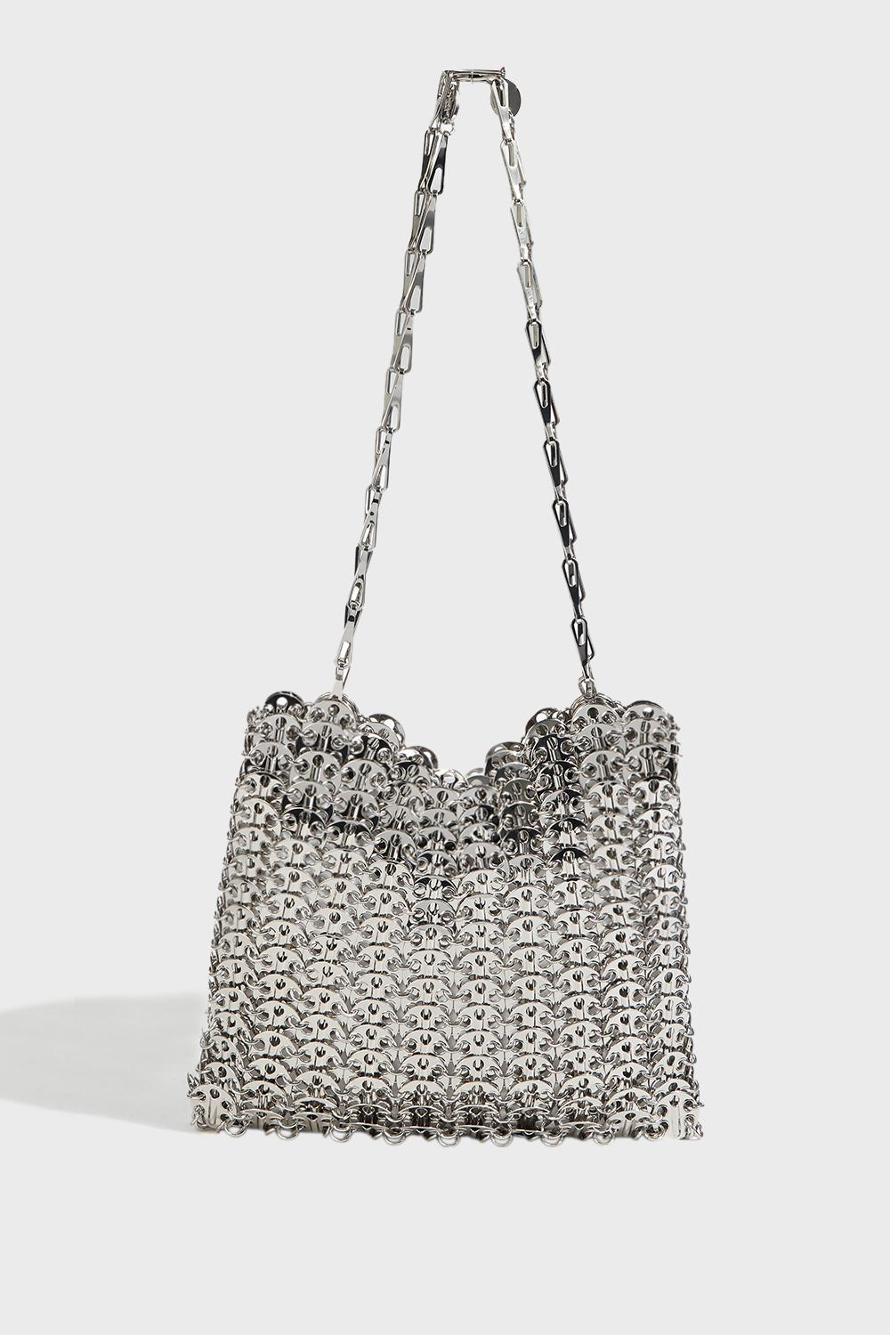 Iconic Chainmail Bag Size Os Women Silver