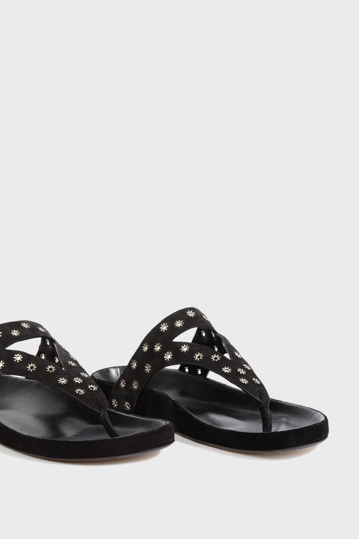 493261ccd3a6 Isabel marant black elbry leather sandals view fullscreen jpg 1000x1500 Isabel  marant leather sandals