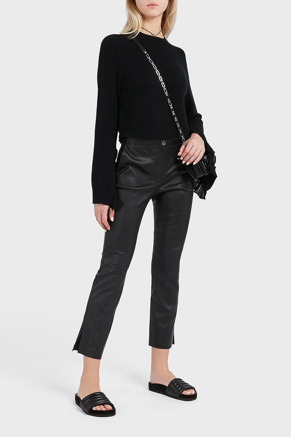 a83ff54c648e53 Gallery. Previously sold at: Boutique1 · Women's Black Leather Pants ...
