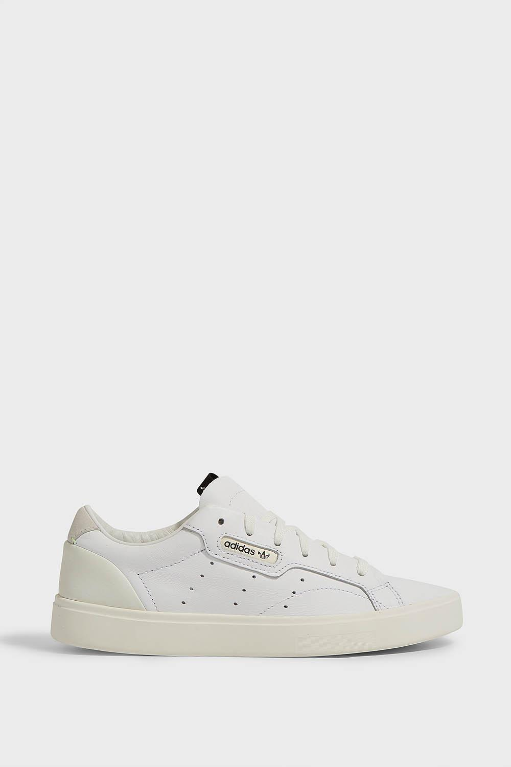 free shipping 3bb20 9c410 adidas Originals Sleek Leather Trainers - Lyst