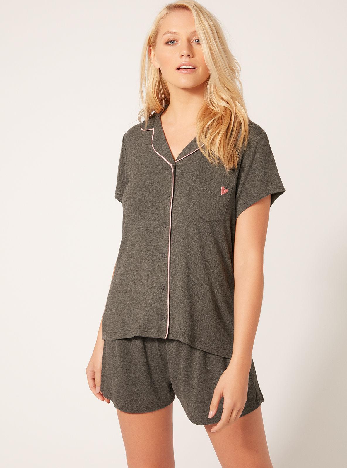419212b026 Lyst - Boux Avenue Jersey Short Pyjama Set in Gray