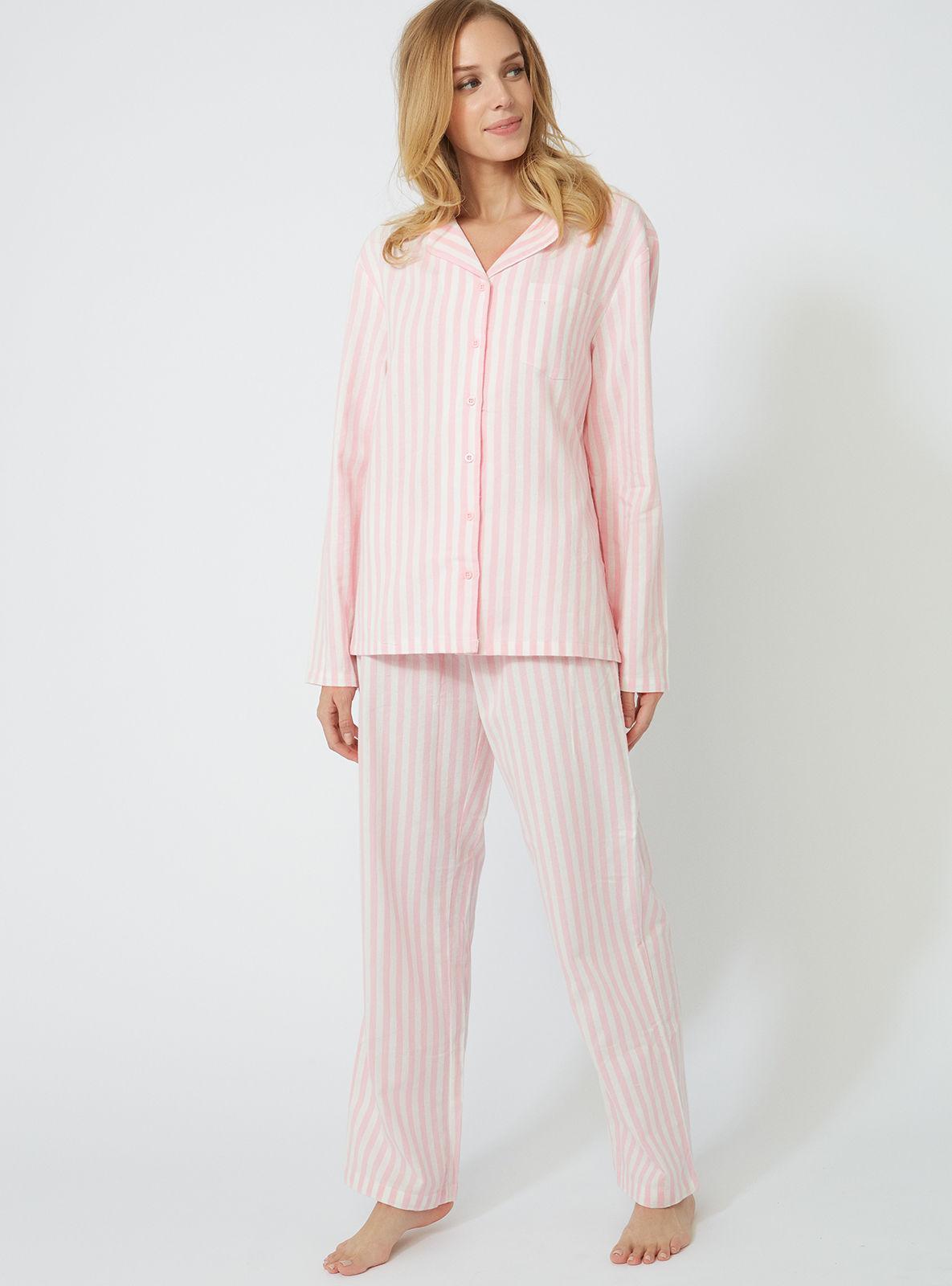 1239cd22d4 Lyst - Boux Avenue Stripe Pjs In A Bag in Pink