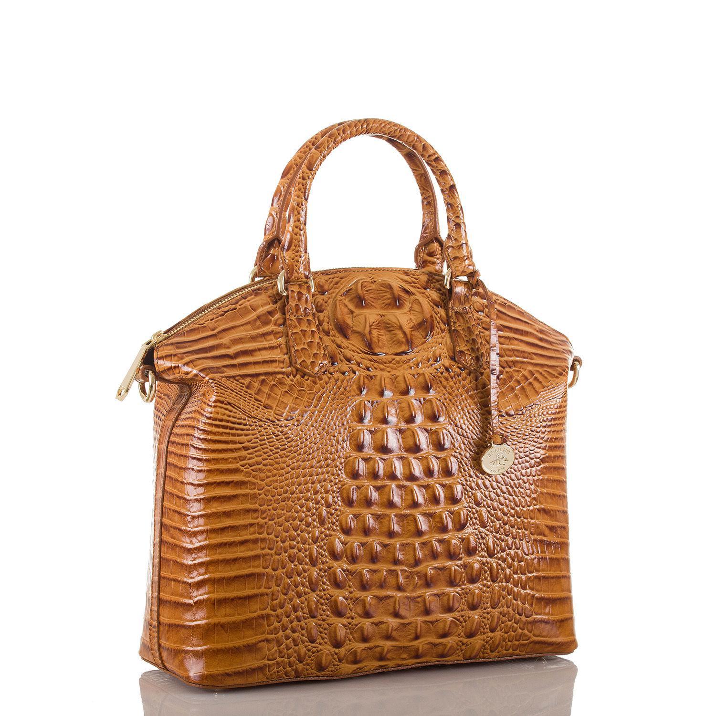 lyst brahmin large duxbury satchel melbourne in brown rh lyst com