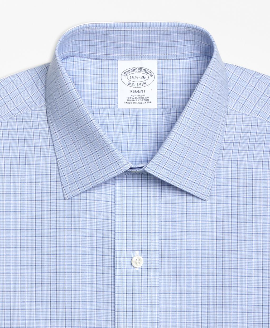 2fc7ef21487b Brooks Brothers Regent Fitted Dress Shirt, Non-iron Glen Plaid in ...