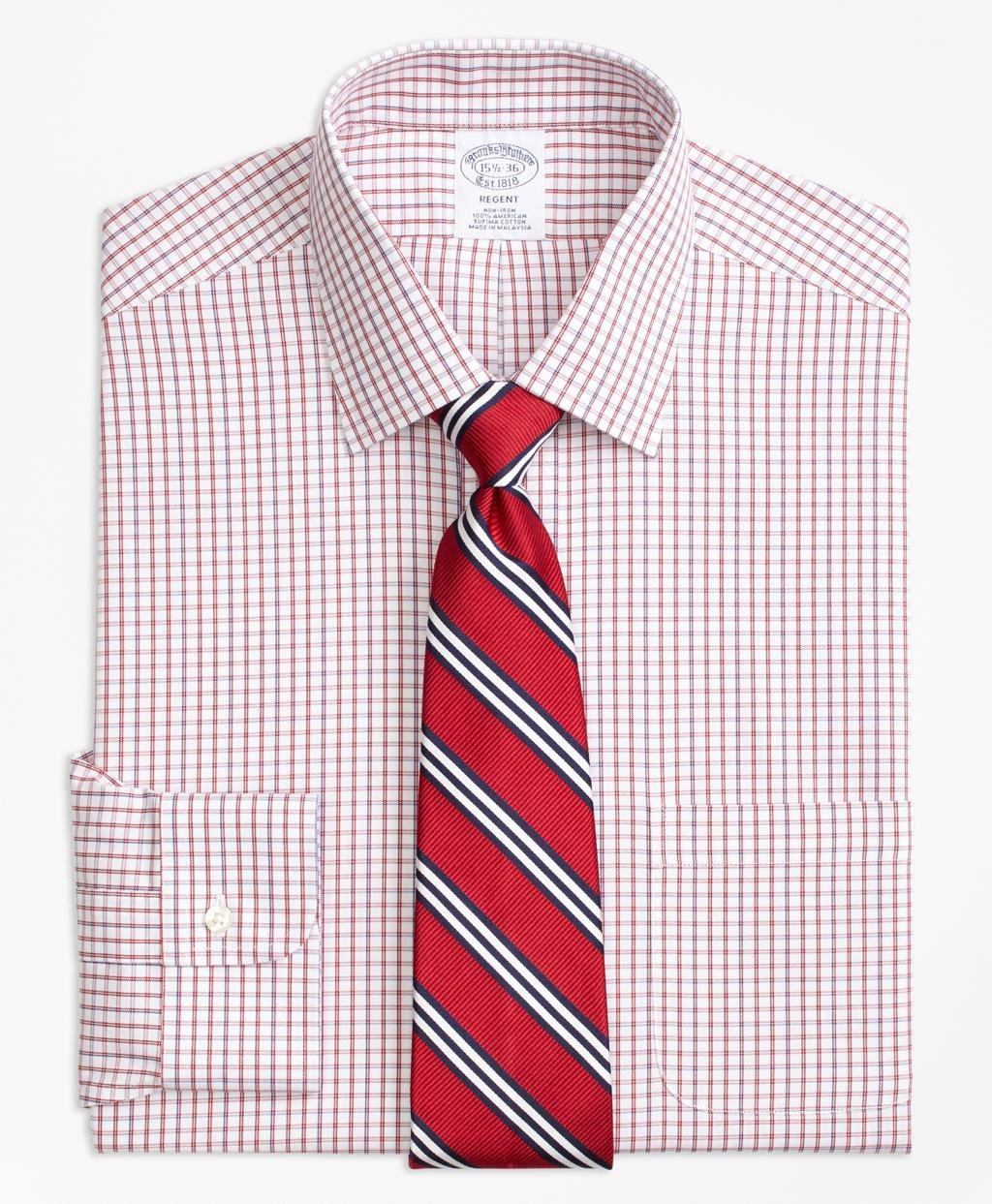 Lyst Brooks Brothers Regent Fitted Dress Shirt Non Iron