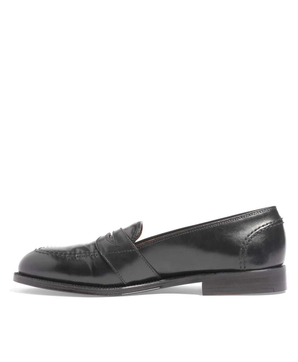 fe4eb8b31ad Lyst - Brooks Brothers Cordovan Low Vamp Loafers in Black for Men
