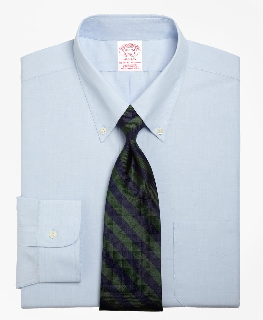 Lyst Brooks Brothers Madison Fit Button Down Collar