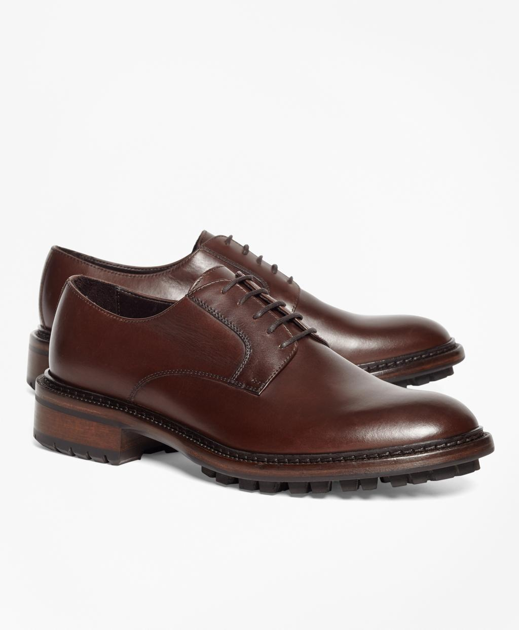 Lyst - Brooks Brothers Derby Shoes in Brown for Men - Save 25% 72c3935a84f