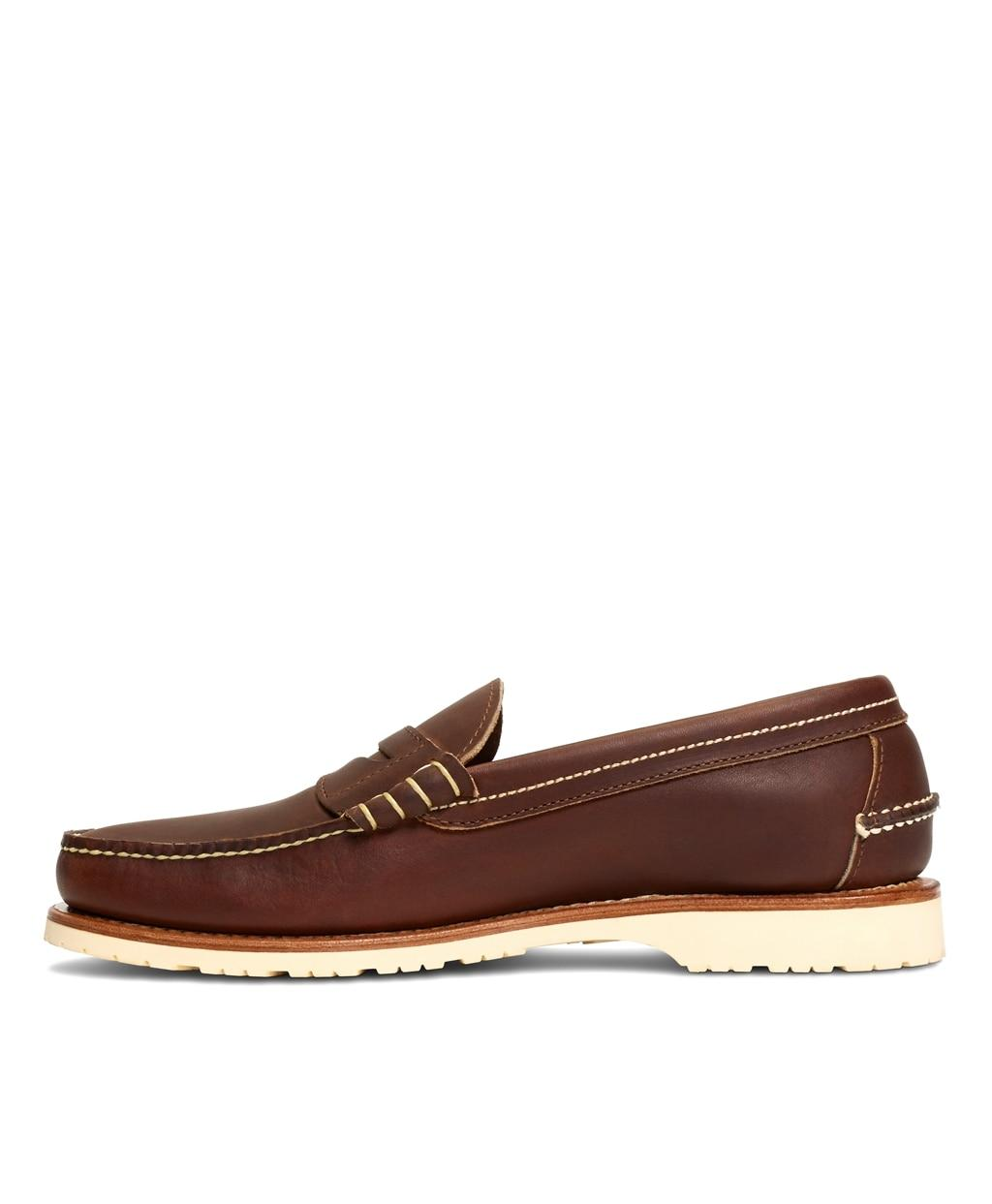 Brooks Brothers Red Wing Amber Mini Lug Penny Loafers in ...