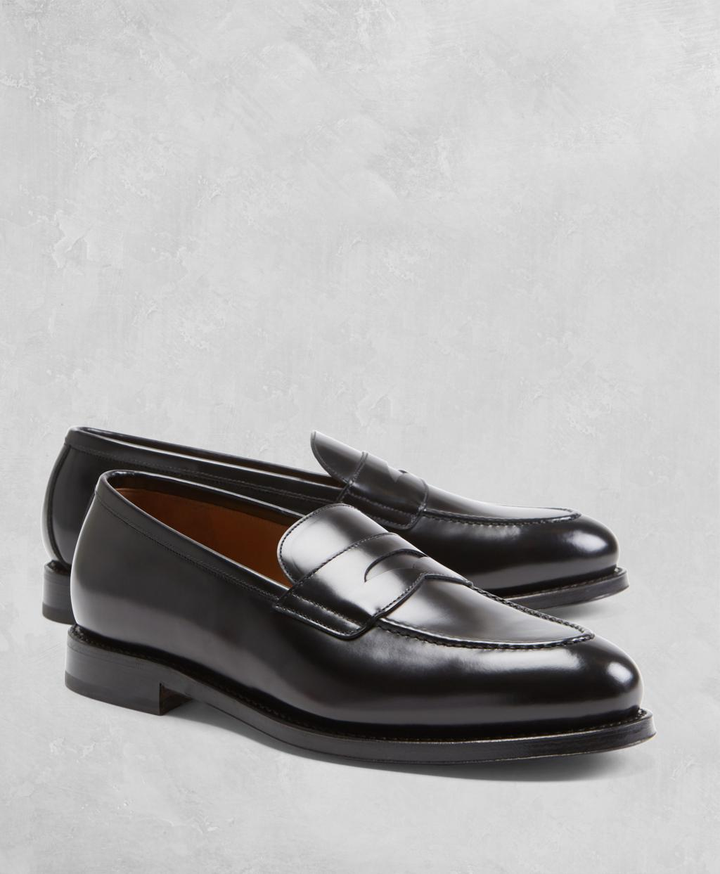 322dcffd6fd Brooks Brothers Golden Fleece® Penny Loafers in Black for Men - Lyst