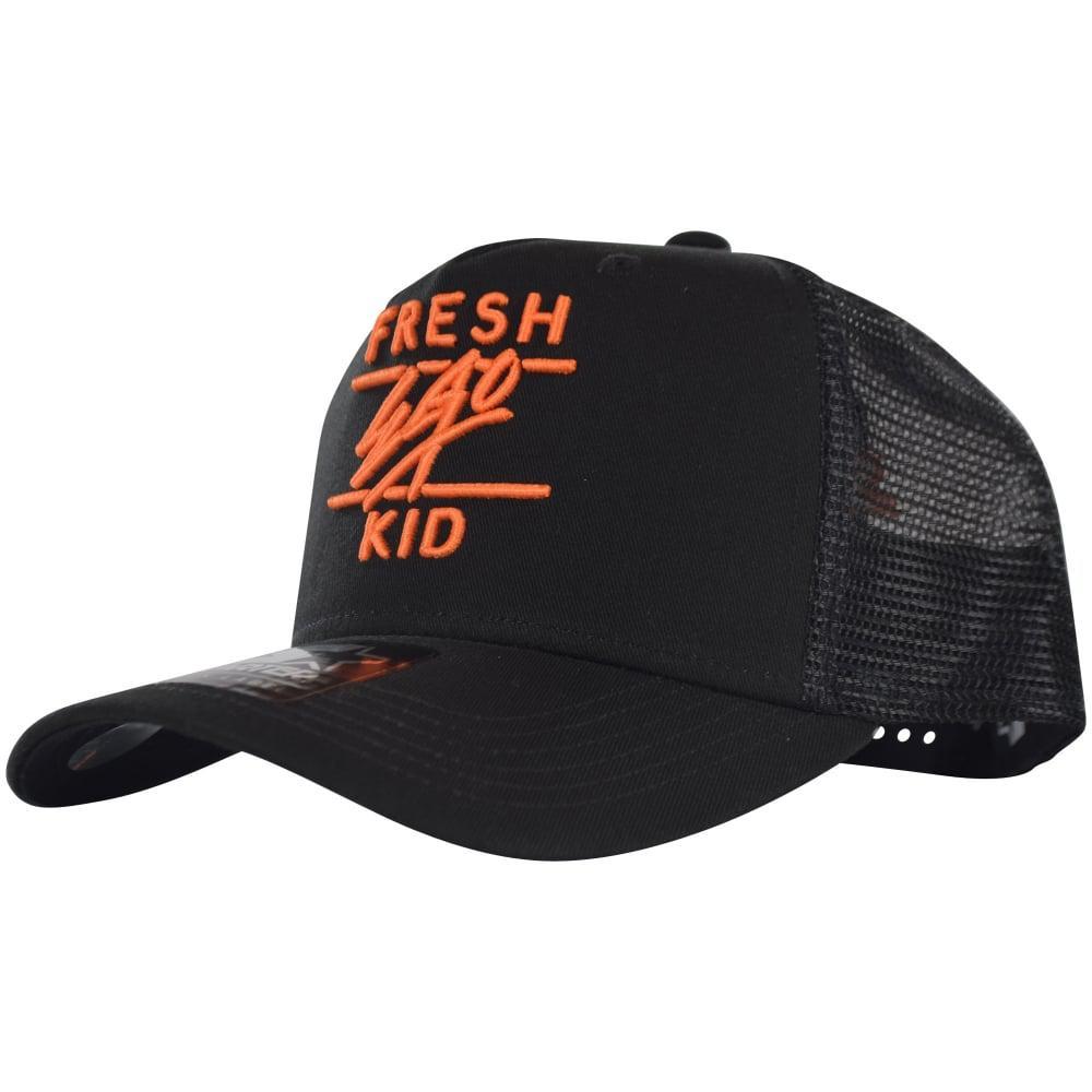 c0f59fcf828 Fresh Ego Kid Mesh Trucker Cap S077 in Black for Men - Lyst