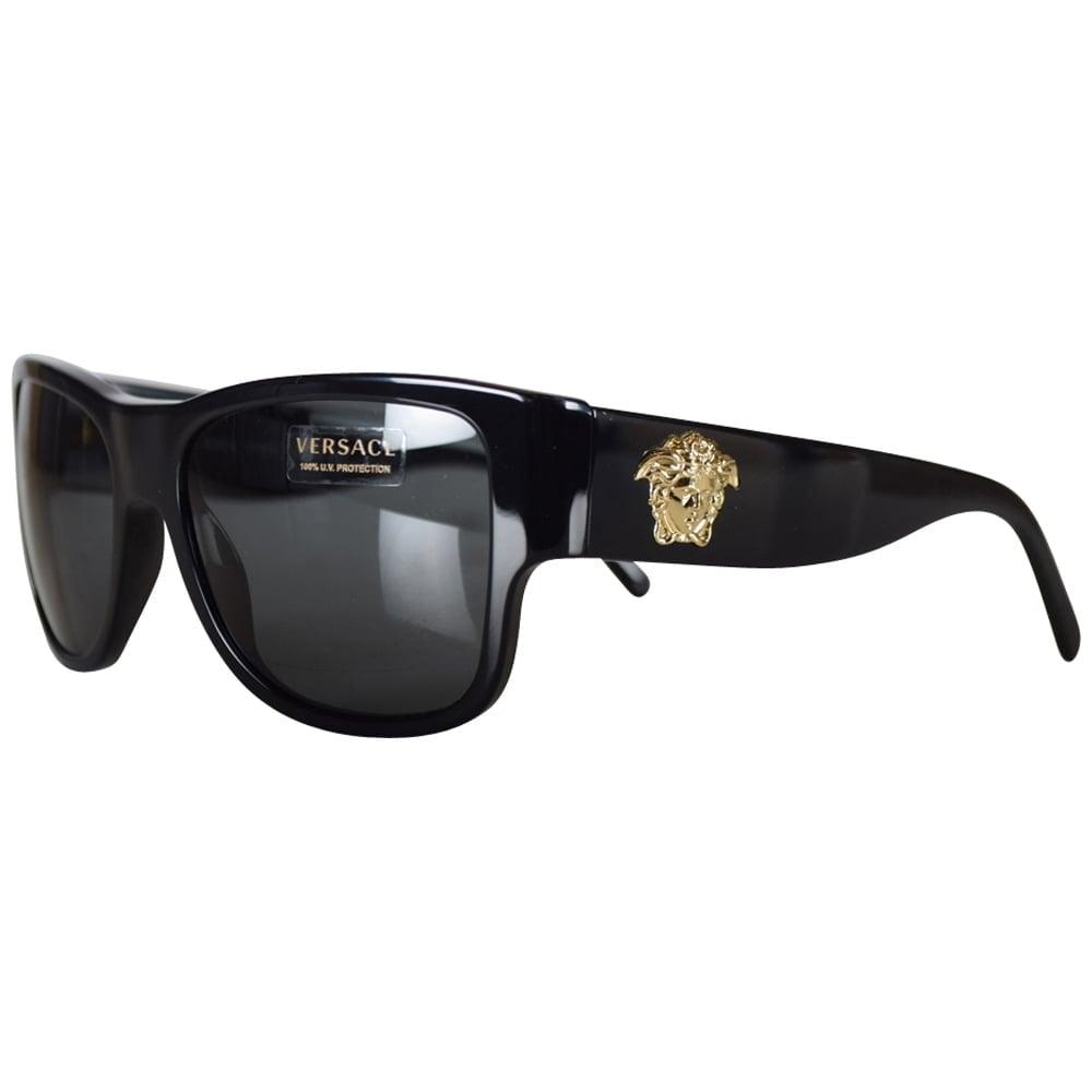 5eaa660f4c Versace - Multicolor Black Medusa Wayfarer Sunglasses for Men - Lyst. View  fullscreen