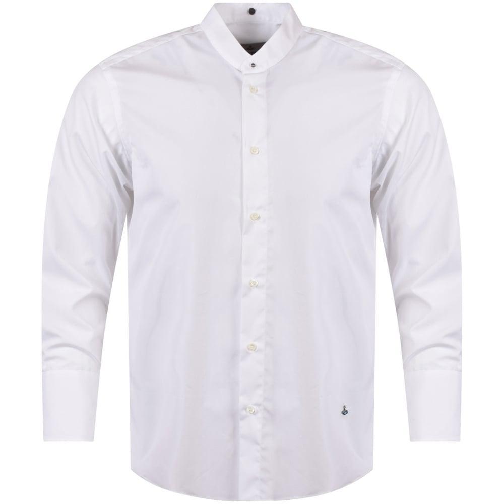 Lyst Vivienne Westwood White Detachable Collar Shirt In White For Men