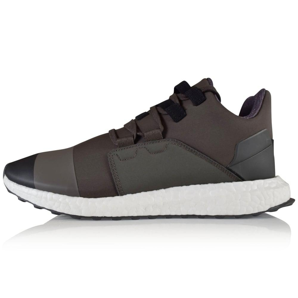 843abc921a87e Lyst - Y-3 Black olive Kozoko Low Trainers in Black for Men - Save 66%