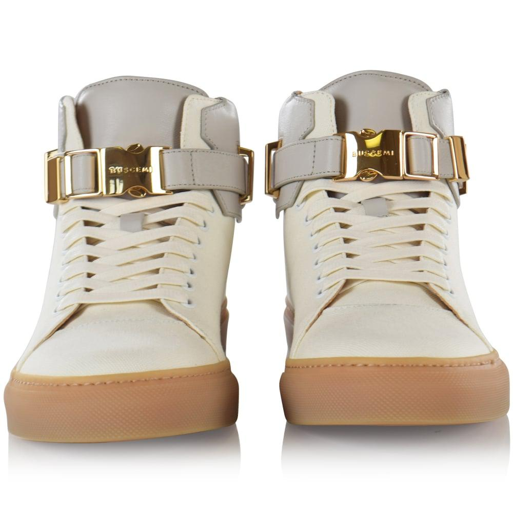 Trainers Lyst Clip White Off 100mm For Canvas Buscemi In Men SCFB1